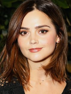 #6: Brown lipstick isn't just for the day. Just because you're on a night out doesn't mean you have to wear a bright bold lip. Opt for a more subtle brown lipstick instead like Jenna Coleman.