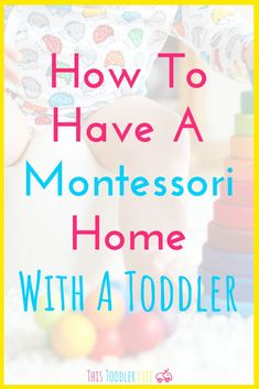 How to have a Montessori home with a toddler. Have you been tossing around the idea of practicing Montessori? Looking for ways to have a Montessori home with a toddler? Montessori Education, Montessori Classroom, Montessori Toddler, Montessori Activities, Toddler Learning, Toddler Preschool, Toddler Activities, Learning Activities, Toddler Classroom