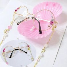 "Lolita pink rose glasses SE9951        Coupon code ""cutekawaii"" for 10% off"