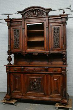 Renaissance Buffet - Individual items - Belgium Antique Exporters