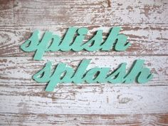 splish splash wood sign shabby chic bathroom beach by seasawsign, $60.00