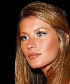 Gisele Bündchen natural make-up