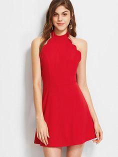 Perfect prom dress, wedding dress, event dress. Fabric: Fabric has some stretch Season: Summer Type: Skater Pattern Type: Plain Sleeve Length: Sleeveless Color: