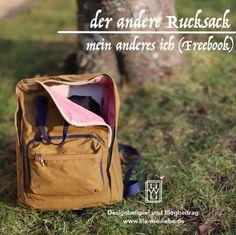 Der andere Rucksack - Freebook (Mein anderes Ich) - Lila wie Liebe