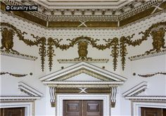 Chiswick House, The Octagon Room. The house was built in to the designs of its owner, the Earl of Burlington. English Interior, Classic Interior, Luxury Interior Design, English Landscape Garden, English Manor Houses, Baroque Design, Chatsworth House, Life Pictures, West London