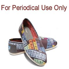Summer Shoes For Chemistry Geeks