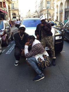 Streetwear in Paris #clique