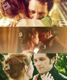timeoutime:Death comes to Pemberley (2013) - Matthew Rhys e Anna Maxwell Martin sono Mr e Mrs Darcy