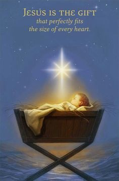 Jesus is the gift that perfectly fits the size of every heart. It's not religion, it's a relationship w/Jesus. Boxed Christmas Cards, Christmas Quotes, Christmas Pictures, Christmas Greetings, Christmas Time, Merry Christmas, Christmas Jesus, Christmas Blessings, Christmas Messages