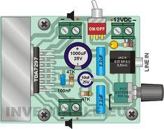 2 x 15W Simple Audio Amplifier