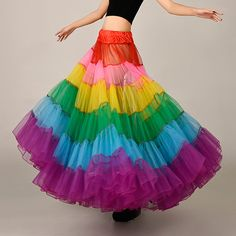 fa456df386cf Fashion Colorful Skirt,Beautiful Long Skirt, Tutu Skirts,petticoat. Top Wedding  Dresses ...