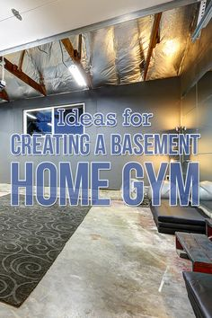There are many shapes a home gym can take. Consider both your fitness goals and the space available before tackling your basement-to-home-gym conversion. Building A Basement, Basement Gym, Space Available, Workout Rooms, At Home Gym, Home Renovation, Declutter, Goals, Create