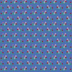 Tissu Ne marchez pas sur les fleurs - Marques/Atelier Brunette - Motif Personnel