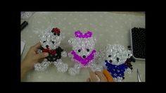 水晶串珠 動物類飾品 泰迪熊