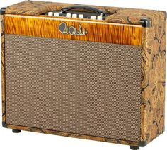 PRS Experience PRS 2010 50W 2x12 Tube Guitar Combo Recording Amp Paisley Blck Gold Maple Faceplate