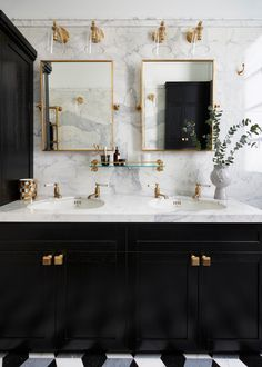Home Room Design, Bathroom Interior Design, House Design, Dream Bathrooms, Beautiful Bathrooms, Marble Bathrooms, Brass Bathroom, Luxury Bathrooms, Modern Bathrooms