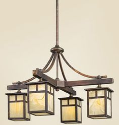 Arts And Crafts Lighting Including Mission Prairie Style Lights From Kichler Craftsman