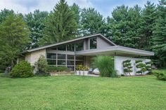 metal roofing mid century - Google Search