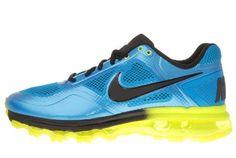 a6fe1d6fde04 Air Trainer 1.3 Max Breathe Blue Glow Volt Mens Training Shoes 512241-407   gt