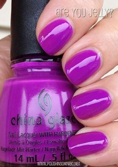 China Glaze Are You Jelly?