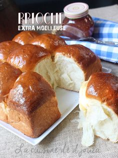 Brioche extra moelleuse et légère Gourmet Recipes, Sweet Recipes, Beste Brownies, Brioche Bread, Challah, Sweet Cooking, Choux Pastry, Molecular Gastronomy, Dough Recipe