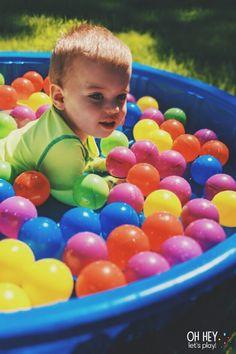 Activities For One Year Olds, Fun Activities For Toddlers, Gross Motor Activities, Montessori Activities, Hands On Activities, Infant Activities, Color Activities, Baby Sensory, Sensory Play