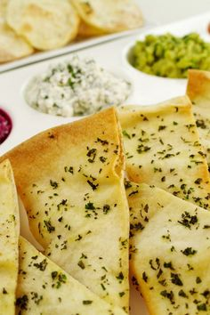 Baked Pita Chips with Herbs Recipe