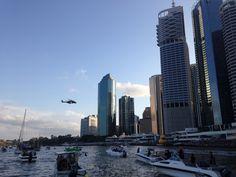 #Brisbane #MH90 #Riverfire #Australia Brisbane, Stuff To Do, Places Ive Been, New York Skyline, Australia, Fire, Travel, Viajes, Destinations