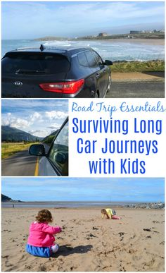 Road Trip Essentials - Surviving Long Car Journeys with Kids #travelwithkids #familyroadtrip #familyholiday