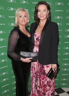 Louise Phelan and Ellen Jones. Celebrity Gossip, Irish, Blazer, Female, Celebrities, Lady, Photography, Beauty, Fashion