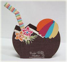 Tropical Party Favor Box