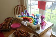 """My Little Pony Party Ideas - """"The Story of Us: A Ponyrific Time Was Had By Every-pony!"""""""