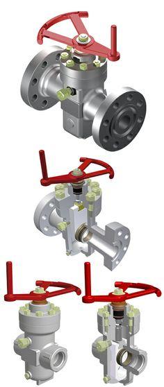 """Las válvulas esclusas modelo E2 / E3 / E5 fueron desarrolladas especialmente para trabajar en condiciones de servicio severo y dar soluciones a la industria de Gas y Petróleo. Disponible en diámetros de hasta 4 1/6"""", pueden trabajar a presiones de 2000 PSI / 3000 PSI y 5000 PSI."""