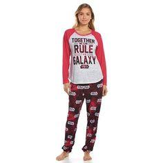 Star Wars Pajamas: Knit Top & Jogger Pants Pajama Set - Juniors