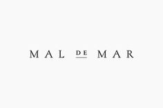 Mal de Mar Logo Design