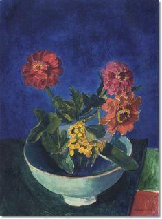 Charles Sheeler: Zinnias in a Bowl, 1918 Composition Drawing, Munier, City Landscape, Types Of Flowers, Museum Of Fine Arts, Beautiful Artwork, American Art, Flower Art, Still Life