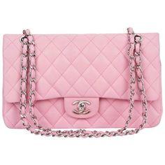 Chanel Bubblegum Pink Double Flap Bag from One Kings Lane Pink Handbags, Chanel Handbags, Luxury Handbags, Purses And Handbags, Chanel Bags, Ladies Handbags, Cheap Handbags, Designer Handbags, Pink Chanel Bag