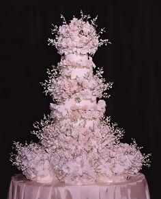 Fancy pink cake