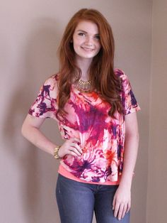 Watercolor Tee - Wit & Whimsy