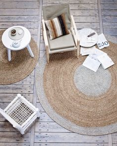 8x8\' Round Area Rug Contemporary 51% Wool 49% Viscose Hand-Tufted ...