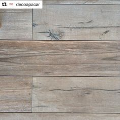 These #wood effect #porcelain #tiles look gorgeous!