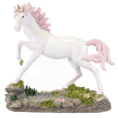 Buy Large Pink Unicorn Ornament at competitive prices at Something Different Wholesale. Unicorn Ornaments, Beautiful Unicorn, Unicorn Gifts, Garden Sculpture, Sculptures, Fairy, Christmas Ornaments, Unicorns, Holiday Decor