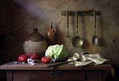 In The Old Kitchen Elena Tatulyyan На старой кухне. Автор: Елена Татульян