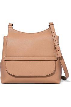 Sideby Textured-Leather Shoulder Bag