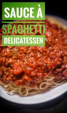 Cooking Spaghetti, Spaghetti Recipes, Spaghetti Sauce, Smoking Meat, Delicatessen, Food To Make, Meal Planning, Chili, Italian Pastries