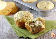 Muffin Salati con Cuore Cremoso