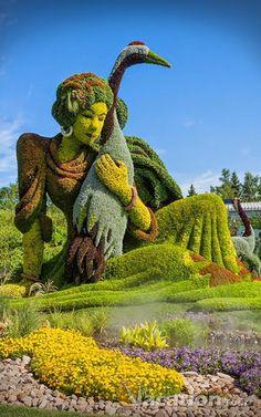 nachhaltige garten kunst skulpturen pflanzen, 92 besten beautiful gardens bilder auf pinterest in 2018, Design ideen