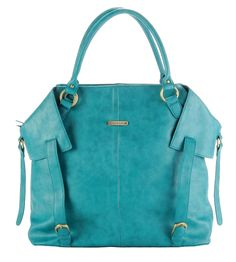 Might be the best gift i got at my shower. Best diaper bag EVER!!! And it's my favorite color. (Timi and Leslie Charlie Diaper Bag in Teal)