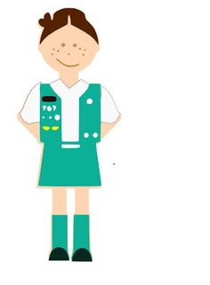 girl scout clip art gs cookies pinterest rh pinterest com girl scout clip art borders girl scout clip art for sale