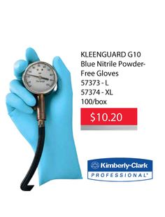#KleenGuard  #Blue #Nitrile #Gloves #Onsale #Discounted #Deal #Hamilton #StoneyCreek Do you use KleenGuard Blue Nitrile Gloves? We have them on sale for only $10.20 a box until November 30, 2015. Compare to amazon at $14.99. This offer while supplies last, no rain checks. Ask staff for details. KleenGuard Blue Nitrile Gloves are 6 mil non-latex nitrile gloves which give thickness for comfort and optimal protection in a variety of industries.